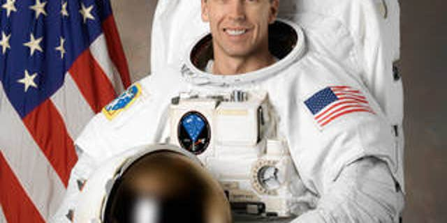 Andrew Feustel was given an honorary degree from Purdue while aboard the International Space Station.