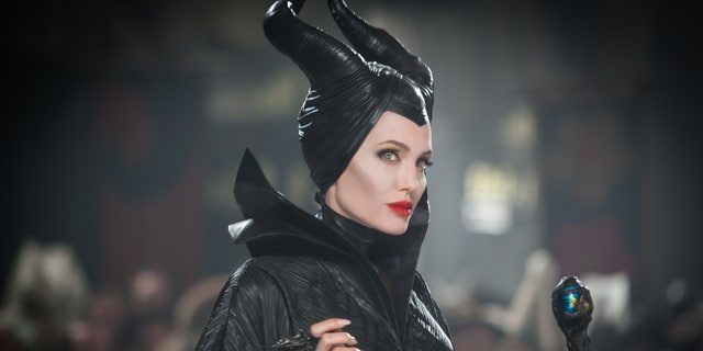 Angelina Jolie in a scene from the film, 'Maleficent.'