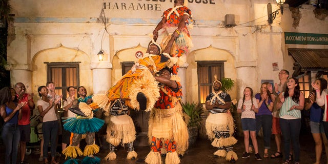 When the sun sets, the popular Village of Harambe at Disney's Animal Kingdom will become a hot spot with the new Harambe Wildlife Parti.