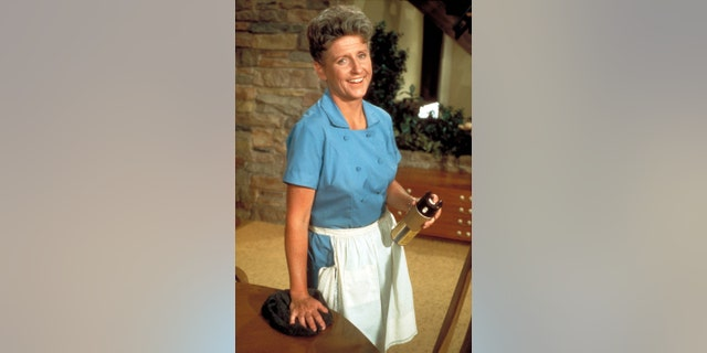 Ann B. Davis portrayed slightly odd but kindly housekeeper, Alice. She often solved family conflicts on the series and served as the children's confidant. In the last season, Alice's character became engaged to longtime boyfriend and neighborhood butcher, Sam.