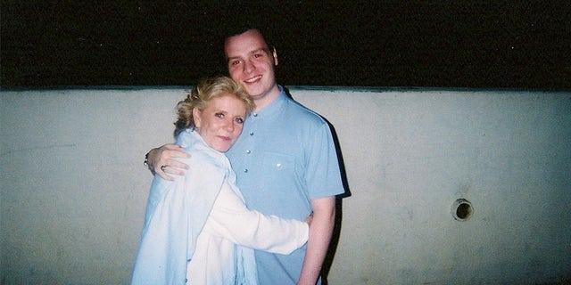 Patty Duke with co-author William J. Jankowski.
