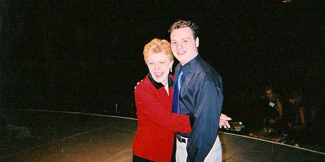 Patty Duke with William J. Jankowski.