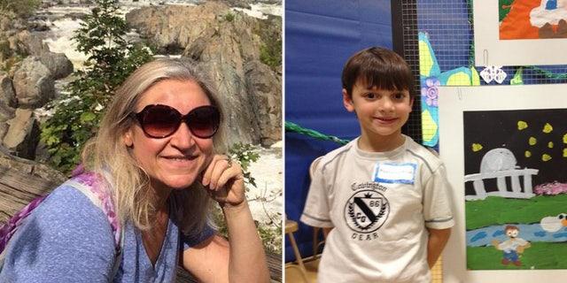 Anna Behar and her son, Daniel, died in the bus crash.