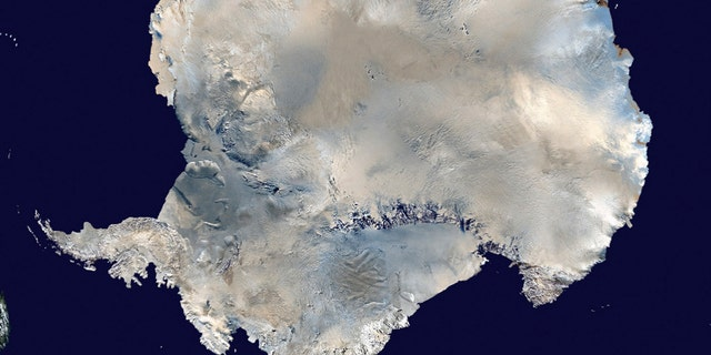 File photo - a satellite view of Antarctica is seen in this undated NASA handout photo obtained by Reuters February 6, 2012. (REUTERS/NASA/Handout via Reuters)