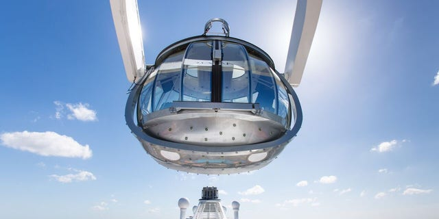 The North Star is a glass-sided observation capsule that ascends to 300 feet above sea level.
