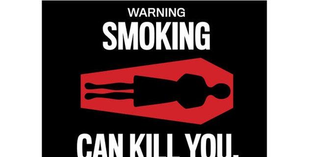 "FDA proposed Cigarette Warning label ""WARNING: Smoking can kill you."""