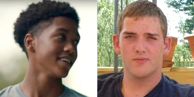 East Pittsburgh Police Officer Michael Rosfeld (right) was charged with one count of criminal homicide in the shooting death of 17-year-old Antwon Rose Jr.