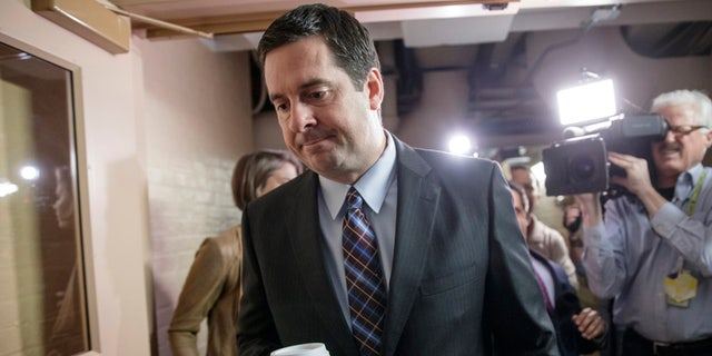 House Intelligence Committee Devin Nunes, R-Calif., could move to release a key memo on alleged surveillance abuses.
