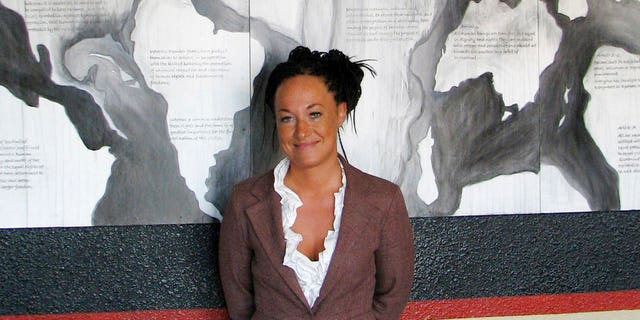 Days after defending its decision to have Dolezal, the white woman who led others to believe she was black, take part in the Baltimore Book Festival, organizers say the former head of the Spokane chapter of the NAACP has been disinvited, Tuesday, May 30, 2017.