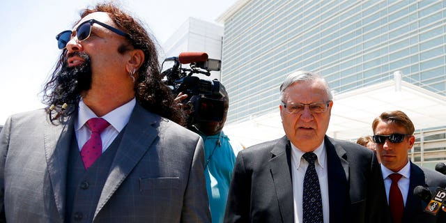 """Once known as """"America's toughest sheriff,"""" Joe Arpaio had a steep fall from grace."""