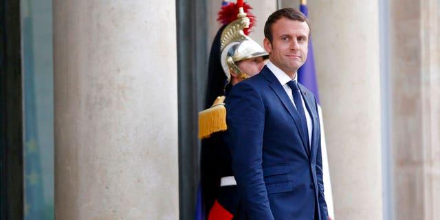 French President Emmanuel Macron in July.