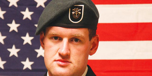In this 2013 file photo, 27-year-old Staff Sgt. James F. Moriarty poses after graduating from special forces training.