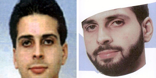 These undated handout photos, released by the German Federal Police in 2001 show Said Bahaji, with and without beard.