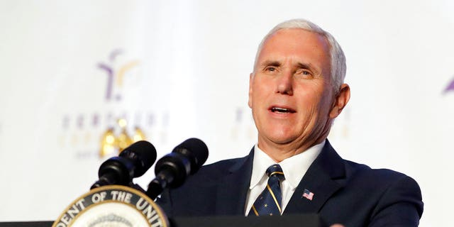 Pence is slated to speak a the annual conference on May 4, with tickets being sold to the event.
