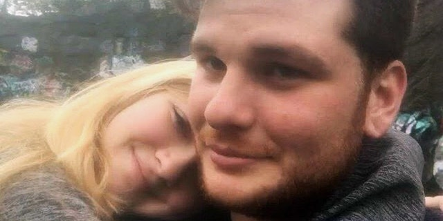This undated photo provided by Kianna Kaizer, shows Jeremy Himmelman and his girlfriend Kianna Kaizer.