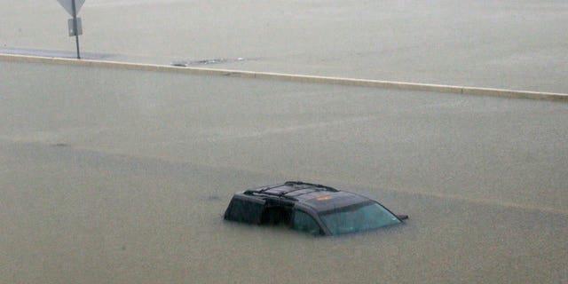 I-10 highway in Houston, Texas.