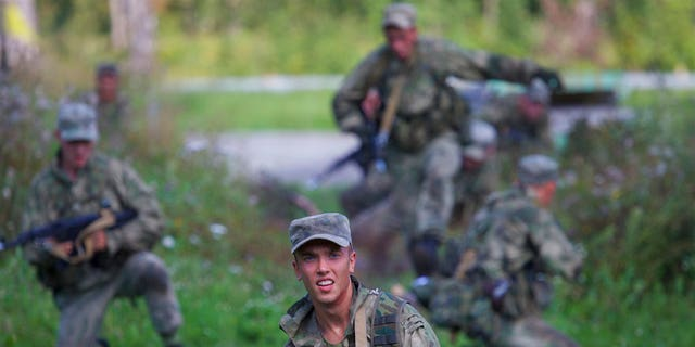 The Russian military says major war games set for next month will not threaten anyone.