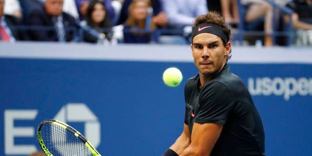 Rafael Nadal defeated Kevin Anderson in three straight sets Sunday to win his third U.S. Open championship.