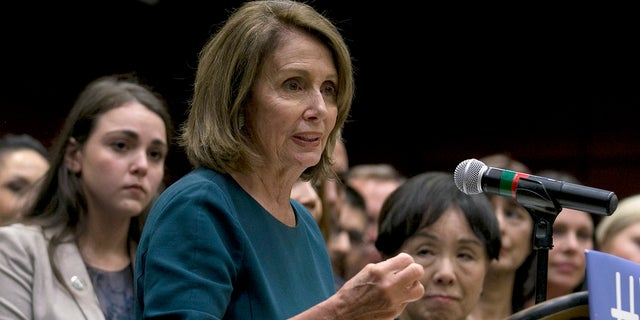 """House Minority Leader Nancy Pelosi, D-Calif. called for the appointment of a new HHS secretary who will stop the """"sabotage"""" of Americans' health care."""
