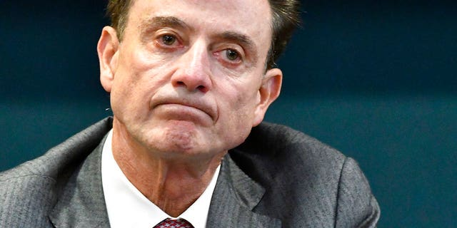 Louisville basketball coach Rick Pitino was fired by the University of Louisville after the launch of a federal fraud investigation. (Associated Press)