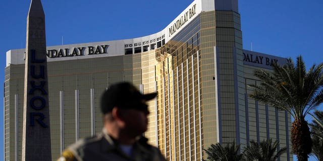 Police said Mandalay Bay Resort and Casino security guard Jesus Campos was shot six minutes before gunman Stephen Paddock began firing into the Route 91 Harvest Festival crowd.