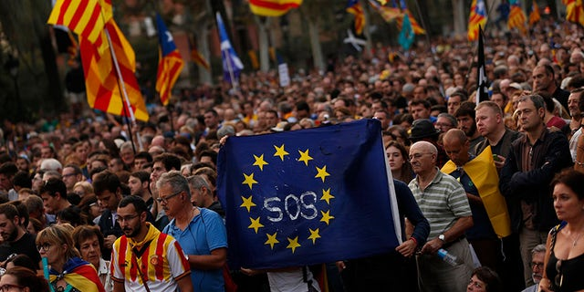 Some 2.3 million Catalans voted in the disputed Catalan independence referendum.