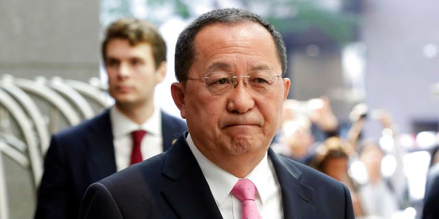 Ri Yong Ho is North Korea's foreign minister.
