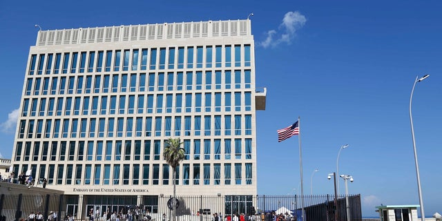 Shown here is the US Embassy in Cuba. The State Department is still investigating mysterious illnesses affecting US personnel.