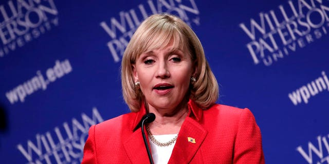 Guadagno's focus is on the perennial state issue of high taxes and she says property taxes are the No. 1 issue that New Jersey voters care about.
