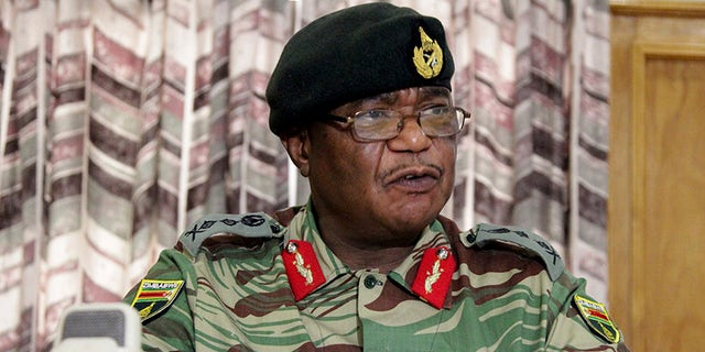 Zimbabwe's army commander, Constantino Chiwenga, leading the military action in the country.