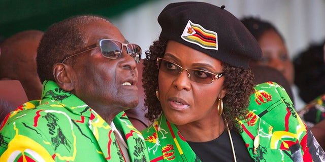The New Jersey native has denied the accusations she tweeted about the 93-year-old Robert Mugabe, who resigned in November following pressure from the military and ruling party amid fears that his wife was positioning herself to succeed him.