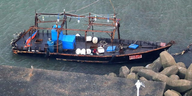 Monday's discovery comes just days after a boat with eight North Korean fishermen also docked on Japan's coast.