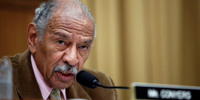 Rep. John Conyers, D-Mich., denies allegations against him, but agreed to step aside from his leadership rank on House Judiciary Committee amid Ethics Committee probe.