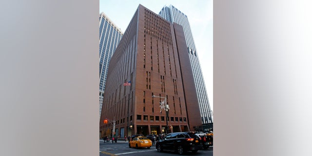 In this Dec. 4, 2017, photo, 4 New York Plaza, where American Media Inc., has its headquarters in New York City.