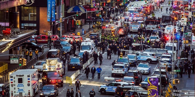 Monday morning's bombing sparked mass chaos and a large response from law enforcement at Port Authority.