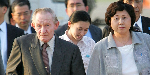 Jenkins met his wife Hitomi Soga when she was kidnapped by Pyongyang to teach North Korean spies Japanese.