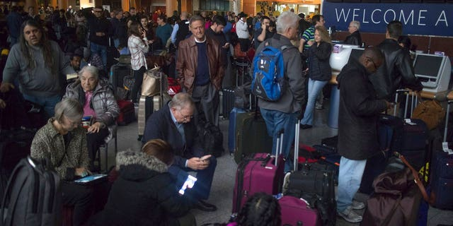 Delta Airlines announced Sunday evening that around 300 flights will also be canceled on Monday due to Sunday's power outage at Hartsfield-Jackson International Airport in Atlanta.