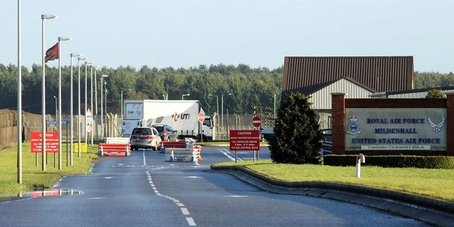 "RAF Mildenhall in Suffolk was placed on lockdown after a ""significant incident."""