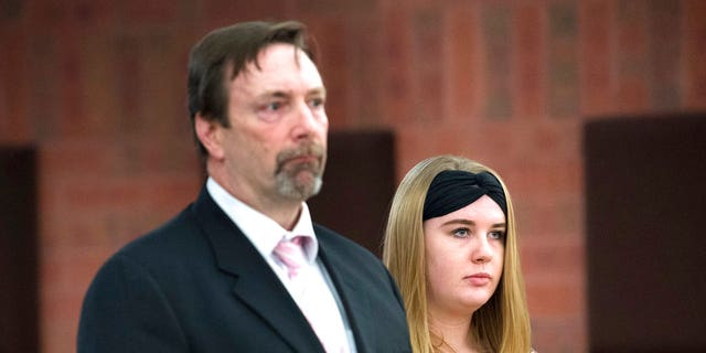 Brochu makes a brief appearance in Hartford Superior Court on Monday.