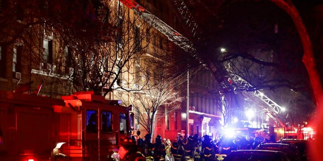 More than 160 firefighters responded to the four-alarm fire in the Bronx, just a block from the borough's famed zoo.