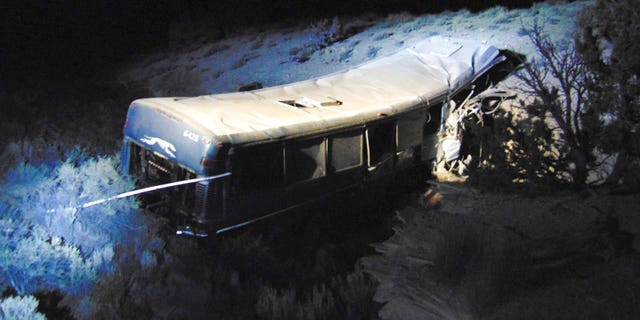 Authorities are investigating the bus crash that killed a 13-year-old girl and injured at least 12 others.