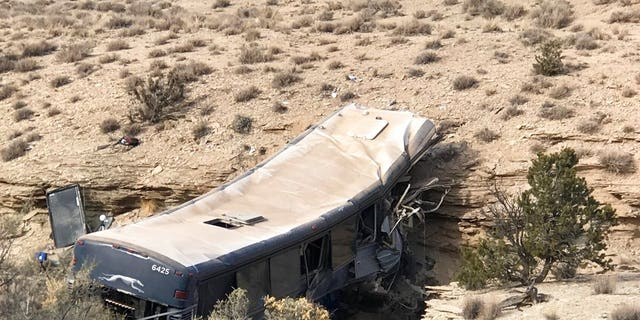 It's unclear what caused the crash, but a passenger reported a possible medical issue with the driver.