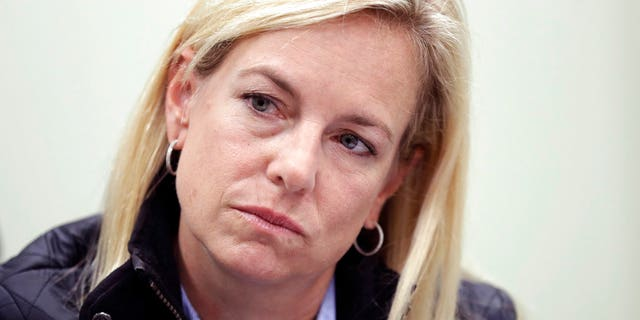 Nielsen refused to say exactly what she heard Trump say