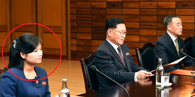 Hyon Song Wol attended Monday's meeting with the South Korean delegation. She was rumored to be Kim Jong Un's ex-girlfriend.