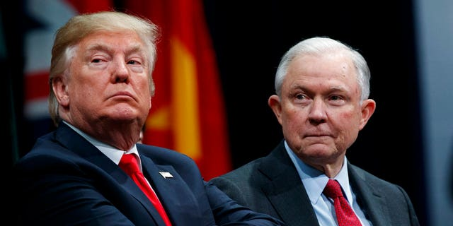 President Trump's attorney general, Jeff Sessions, has launched investigations at the Justice Department related to former Secretary of State Hillary Clinton.