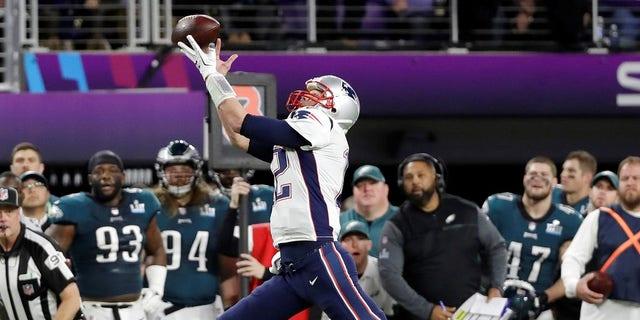 New England Patriots quarterback Tom Brady failed to catch a pass during Super Bowl LII.