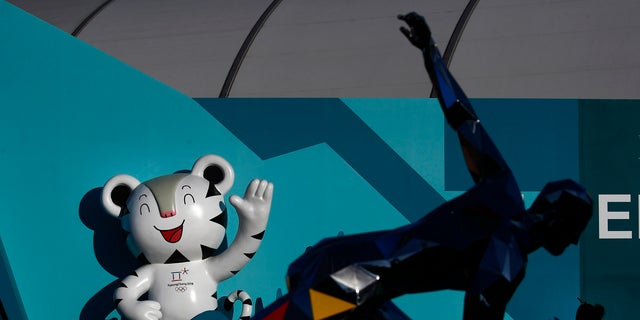 Soohorang, seen above, at the Olympic Park prior to the 2018 Winter Olympics in South Korea.