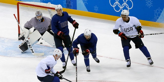 Again, a team of Russians is the favorite even if it's under a neutral flag and again the U.S. is trying to end a lengthy gold-medal drought, which dates back to 1980.