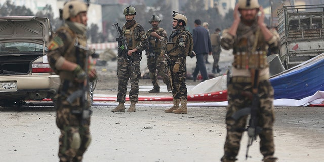 Kabul has recently seen a spate of large-scale militant attacks by the Taliban and also the Islamic State group.