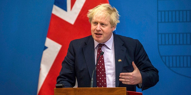 """Boris Johnson told lawmakers he wasn't """"pointing fingers"""" as to who might be responsible for the collapse of ex-Russian spy Sergei Skripal and his daughter Yulia."""
